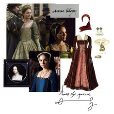 """Anne Boleyn"" by daughter-of-apollo92 ❤ liked on Polyvore featuring anneboleyn, tudor, HenryVIII, 1500s and 16thcentury"