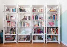 4 estantes!