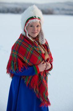 Sami Girl - Indigenous people of Norway.