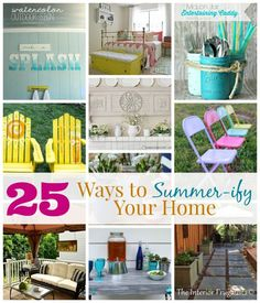 25 Ways to Summer-ify Your Home