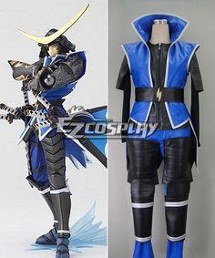 Sengoku Basara 3 Date Masamune Cosplay Costume #EveryoneCanCosplay…