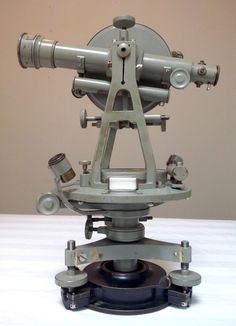This is an 1860's Kern Theodolite