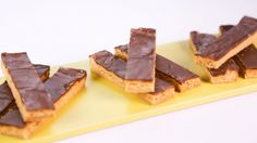 Chocolate-Peanut Butter Bars by Allison Fishman Task