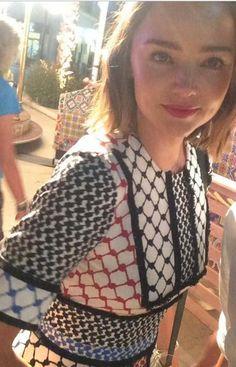 Miranda Kerr wearing (+) People