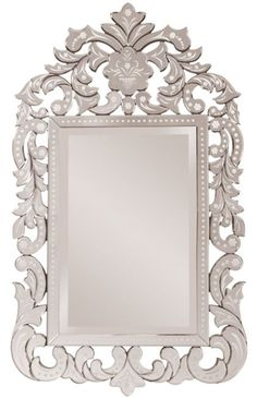 Our Regina mirrors features an elegantly etched mirrored venetian-style frame. Description from houzz.com. I searched for this on bing.com/images