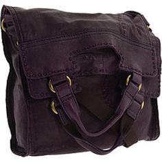Lucky Brand Abbey Road Handbag Foldover Purse In Purple D