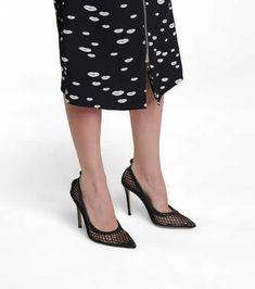 Gianvito Rossi - Women's Designer Shoes | Mytheresa Shoe Closet, Types Of Shoes, Designer Shoes, Kitten Heels, Women Wear, Pumps, Luxury, Leather, Mesh