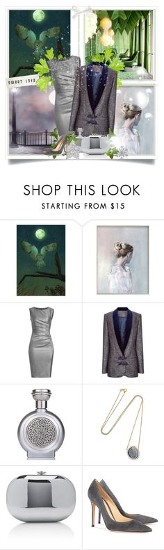 """Night Owl"" by molly2222 ❤ liked on Polyvore featuring MaxMara, Racil, Boadicea the Victorious, Kimberly McDonald, Jeffrey Levinson, Gianvito Rossi, suedepumps, drapeddress, dinnerjacket and mirroredclutch"
