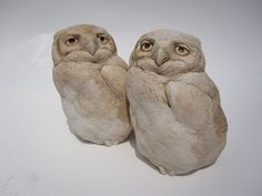 Hey, I found this really awesome Etsy listing at https://www.etsy.com/listing/155654802/great-horned-owl-nestling-pair-christmas