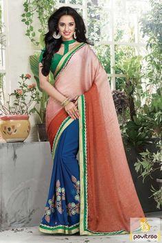#Rust #Blue #Georgette #Silk #Designer Saree #Online Shopping, #saree, #weddingsaree,  #indianweddingsaree,  #designersaree, #sareewithblouse, #sarees, #sareeonline,  #indiansaree, #sareecollection, #sareesonlineshopping, #buysareeonline,  #fashionsaree, #latestsaree, #newsarees, #sareewithblouse, #weddingsareeonline,  #designerblouse, #valentinegift More :   http://www.pavitraa.in/store/party-wear-saree/ Any Query :  Call / WhatsApp : +91-76982-34040