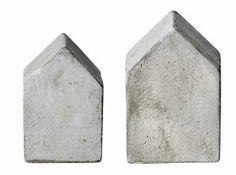 Huisje Cement kun je dit namaken met cement en lege vla pakken?