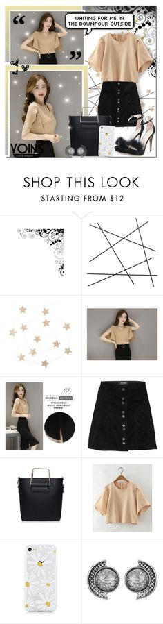 """""""Dark, Rusty Gold Beauty // Yoins"""" by angelstylee ❤ liked on Polyvore featuring CB2, yoins, yoinscollection and loveyoins"""