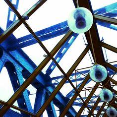 Design. Pushkin bridge in Moscow. Russia