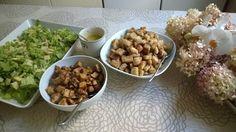 Tupun tupa: Caesar salaattia ja parmesaanikastiketta