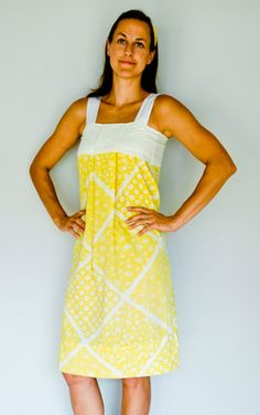 Someday Crafts: Adult Pillowcase Dress (And kids pillowcase skirt)