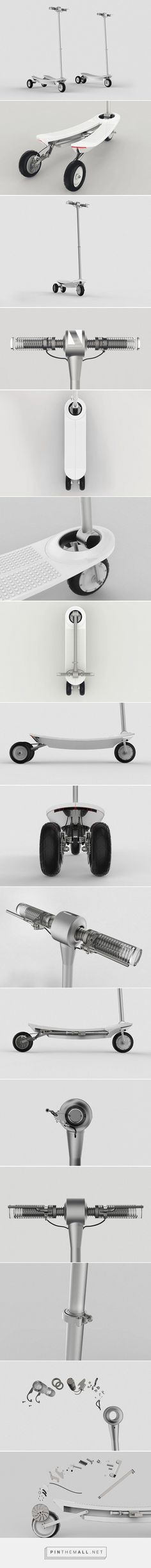 A Cooler Scooter | Yanko Design - created via https://pinthemall.net