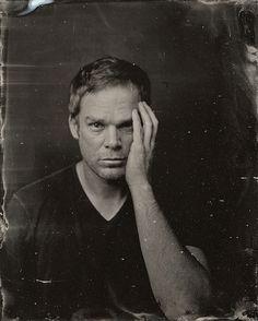 Dramáticos retratos de celebridades contemporáneas al estilo 1860 2014 Sundance TIn Type Portraits - Michael C. Hall