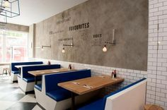 Restaurant / Cafe / London\'s Best Chippy, Style Included : Remodelista