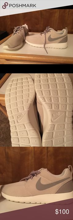Nike Roche one Brand new, never worn. Without box. Purchased from the ladies foot locker. Nike Shoes Athletic Shoes