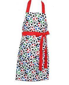 Soccer Adult Apron, Sports, Soccer Mom, Grandma, Coach, Friend, Daughter, Custom Cotton Anniversary Gift Personalize Name, Oma, AGFT 577 Birthday Gag Gifts, Mom Birthday, Cobbler Aprons, Teacher Christmas Gifts, Christmas Shopping, Cotton Anniversary Gifts, Custom Aprons, Mom And Grandma, Sewing Studio