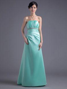 Strapless Pleated Floor Length Empire Evening Dress with Rhinestone Brands:TOSCANew Product:YESFreeship:YESModel Name:DahsaTailoring Time (Standard):10-15 DaysTailoring Time (Rush Order):7-10 DaysSilhouette:EmpireNeckline:SweetheartShoulder Strap:StraplessWaist:EmpireHemline:Floor…