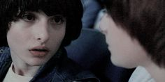 mike x will | Tumblr Stranger Things Have Happened, Stranger Things Funny, Bobby, Will Byers, Wattpad, Perfect Boy, Aesthetic Gif, Her Smile, Going Crazy