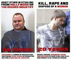 """Soul says, """"This disgusts and angers me. There's something terribly, terribly wrong when our """"justice"""" system puts away a rapist (& MURDERER) for less time than someone who shared digital files. What is going on in your country? This makes NO SENSE! UGH!!!!!!!"""""""