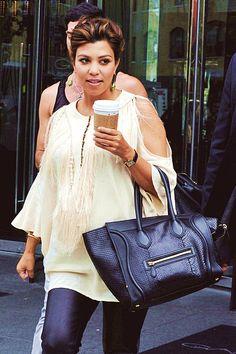 Kourtney Kardashian leaving Gansevoort Hotel