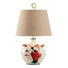 "WildWood Vietri St. Nick 24"" Table Lamp"