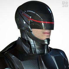 3D Printable: RoboCop Black Suit / New Armor (2014 Film) – 3D Model   File Formats: STL OBJ – Do3D.com