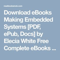 """Books Type PDF Real Time Embedded Systems [PDF, ePub, Docs] by Jiacun Wang Online Full Collection """"Click Visit button"""" to access full FREE ebook Free Ebooks, My Books, Pdf, Button, Buttons, Knot"""