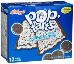 Clark White - I immediately thought of you! Kelloggs Announces Brand New Pop Tart Flavors! Weird Oreo Flavors, Pop Tart Flavors, Funny Food Memes, Food Humor, Stupid Memes, Dankest Memes, Gross Food, Weird Food, Crazy Food
