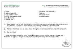 Homemade Eggnog: Holiday Recipe
