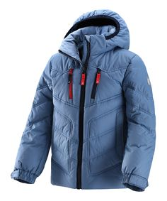Blue Tian Down Water-Resistant Jacket - Kids by Reima £69.99