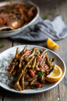 Cold Side Dishes, Turkish Recipes, Ethnic Recipes, Lemon Green Beans, Bean Stew, Green Bean Recipes, Spinach And Cheese, Recipe Please, Clean Eating Recipes