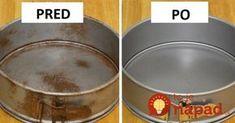 Pozrite sa, ako tento nápad funguje v praxi. Niky by sme nepovedali, že hrdza a nečistoty pôdu dole tak jednoducho, ako v tomto nápade. Stačí naliať, pretrieť povrch a dobre umyť. Takto môžete zachrániť aj