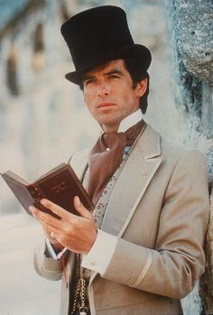 Pierce Brosnan Around the World in 80 Days Love this version In my humble opinion, This is the Only version of Jules Verne's wonderful story. Its my favorite introduction into the world of Steampunk.