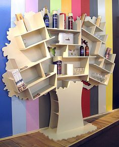 """Tree bookcase """"Tess"""" - MATHY BY BOLS - News and press releases"""