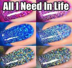 Simply nailogical's nail polish is like a HOLOSEXUAL dream ✨✨