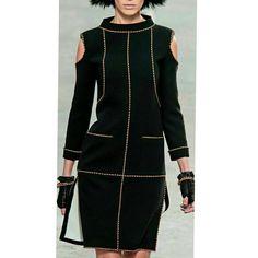 Платье от CHANEL at Paris Fashion Week Spring 2014 <br>Автор: Альбина Скрипка<br>#Моделирование.