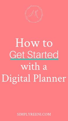 Do you want to plan and organize without all the hassle that comes with a paper planner? Start simplifying your process with digital planning! It's so easy to get it setup. Here's how to get started with a digital planner, so you can start this fun and simple way of planning for all the things! #digitalplanner #ipad #goodnotes #stickers #template #ideas #notability #andriod #bestdigitialplanner Instagram Apps, Essential Oils Guide, Planning And Organizing, Finance Organization, Good Notes, How To Get, How To Plan, Diffuser Blends