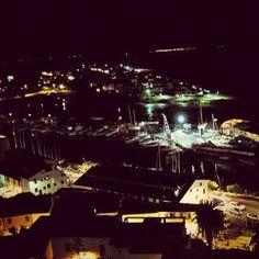 Photo from the Instacanvas gallery for ilaria_agostini. Castiglion della Pescaia by night, Tuscany, Italy