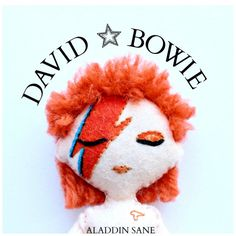 18cm art doll of David Bowie Ziggy Stardust by WhisperOfThePipit
