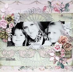 Layout by Steph Devlin using Tea Thyme by Prima