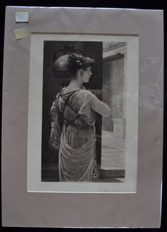 """1800's French Photogravure """"The Water Carrier"""""""