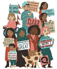 Repost from artist - S/o to all my ladies who are marching today. We have to Repost from artist - S/o to all my ladies who are marching today. We have to stand for what we believe in. Protest Art, Protest Signs, Protest Posters, Black Lives Matter Quotes, Families Belong Together, Feminist Art, Power To The People, Anti Racism, Wall Collage