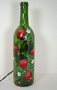 Роспись вазочек, бутылочек