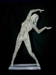 Image result for figurative wire sculpture