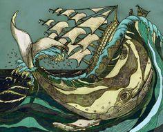 =) La Ballena y el Barco