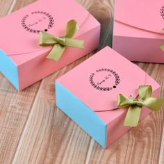 New Arrival 10 Pcs Pink Gold Lux Cake Macaron Chocolate Box Food Paper Christmas Birthday Gift Packaging Boxes Cake Boxes Packaging, Baking Packaging, Gift Packaging, Packaging Design, Wedding Gift Boxes, Box Cake, Diy Box, Box Design, Creations